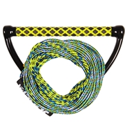 Palonnier Wakeboard + Corde Combo Prime Yellow