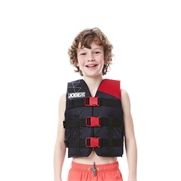 Gilet enfant Jobe Nylon Progress 30-40 kgs Rouge