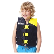 Gilet enfant Jobe Nylon Progress 30-40 kgs Jaune