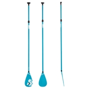 Rame télescopique pour Stand Up Paddle Fiberglass Blue