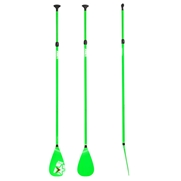 Rame télescopique pour Stand Up Paddle Fiberglass Green