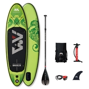 Pack Stand-Up Paddle gonflable Aqua Marina Breeze 9'