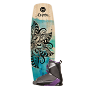Pack Wakeboard Goodboards Cosma + Chausses Liquid Force Transit Ladies