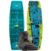 Pack Wakeboard Hyperlite Hashtag 2017 + Chausses Defacto 2020