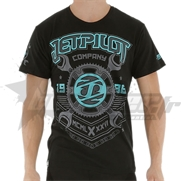 T-Shirt JetPilot Machinist Blue