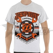 T-Shirt JetPilot Machinist Orange
