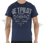 T-Shirt JetPilot Built Tough Navy Blue