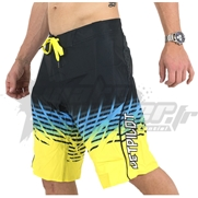 Boardshort JetPilot Radar 2 en 1 Black/Yellow