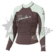 Top Neoprene JetPilot Ladies Brown