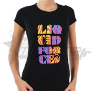 T-shirt Liquid Force Ladies Stacked Black