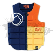 Gilet d'impact Liquid Force Flex Comp  Navy/Orange
