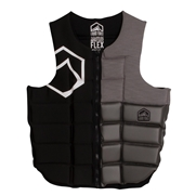 Gilet d'impact Liquid Force Flex Comp Black/ Grey