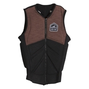 Gilet d'impact Liquid Force Z-Cardigan Brown