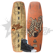 Pack Wakeboard Liquid Force FLX + Chausses Park velcro