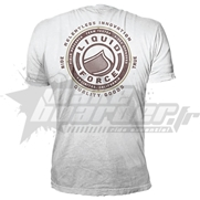 T-Shirt Liquid Force Rider Tested White