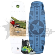 Pack Wakeboard Junior Liquid Force Rant + Chausses Rant Jr (2017)