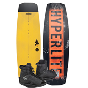 Pack Wakeboard Hyperlite Ripsaw 2019 + Chausses Divide