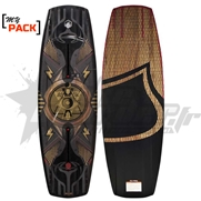 My Pack Wakeboard Liquid Force Shane Dose (2017) + Chausses aux choix