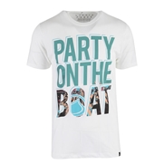 T-Shirt Liquid Force Party White