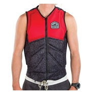 Gilet d'impact Liquid Force Z-Cardigan Red/ Black