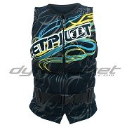 Gilet Jetpilot Techtonic Ladies Comp Black / Blue