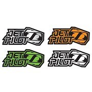 Sticker JetPilot Team 18cm